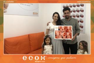 Ecografía emocional ecografía 4D de Ana Lima grávida 26 Semanas de Amélia, 3º filha :)