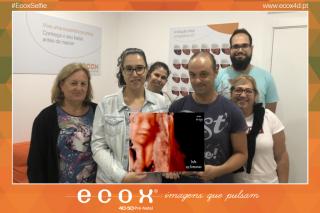 Ecografía emocional ecografía 4D de Daniela Simões 28 Semanas
